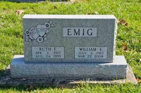 BURRIER EMIG, RUTH F. - Tuscarawas County, Ohio | RUTH F. BURRIER EMIG - Ohio Gravestone Photos