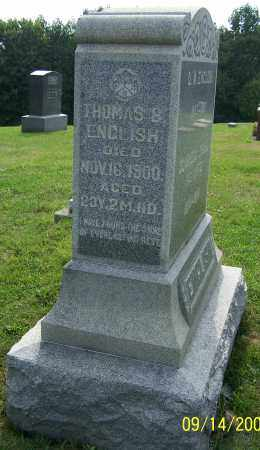 ENGLISH, THOMAS B. - Tuscarawas County, Ohio   THOMAS B. ENGLISH - Ohio Gravestone Photos