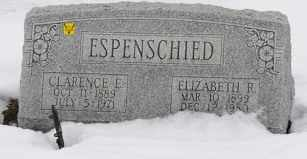 ESPENSCHIED, CLARENCE E. - Tuscarawas County, Ohio | CLARENCE E. ESPENSCHIED - Ohio Gravestone Photos