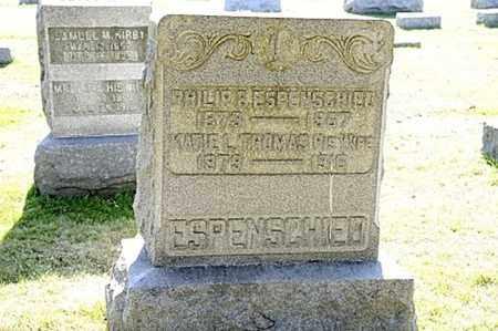 THOMAS ESPENSCHIED, KATIE L. - Tuscarawas County, Ohio | KATIE L. THOMAS ESPENSCHIED - Ohio Gravestone Photos