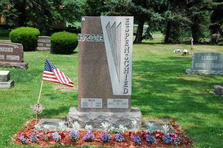 ESPENSCHIED, MAX - Tuscarawas County, Ohio | MAX ESPENSCHIED - Ohio Gravestone Photos