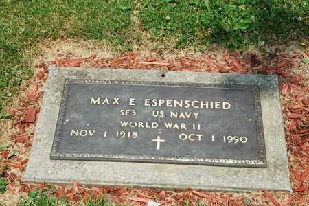 ESPENSCHIED, MAX E. - Tuscarawas County, Ohio | MAX E. ESPENSCHIED - Ohio Gravestone Photos