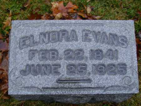 EVANS, ELNORA - Tuscarawas County, Ohio | ELNORA EVANS - Ohio Gravestone Photos