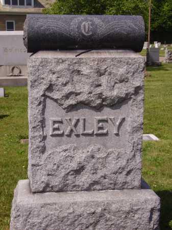 EXLEY FAMILY, MONUMENT - Tuscarawas County, Ohio   MONUMENT EXLEY FAMILY - Ohio Gravestone Photos