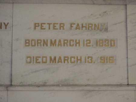 FAHRNY, PETER - Tuscarawas County, Ohio | PETER FAHRNY - Ohio Gravestone Photos