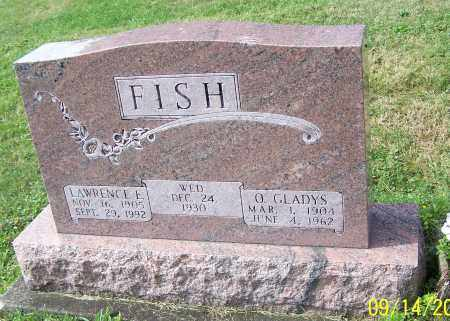 FISH, LAWRENCE E. - Tuscarawas County, Ohio | LAWRENCE E. FISH - Ohio Gravestone Photos