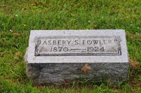 FOWLER, ASBERY S. - Tuscarawas County, Ohio | ASBERY S. FOWLER - Ohio Gravestone Photos