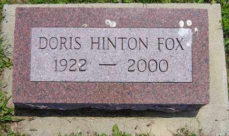 FOX, DORIS - Tuscarawas County, Ohio | DORIS FOX - Ohio Gravestone Photos