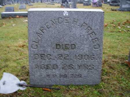 FREED, CLARENCE H. - Tuscarawas County, Ohio | CLARENCE H. FREED - Ohio Gravestone Photos