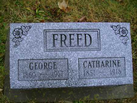 KUHN FREED, CATHARINE - Tuscarawas County, Ohio | CATHARINE KUHN FREED - Ohio Gravestone Photos