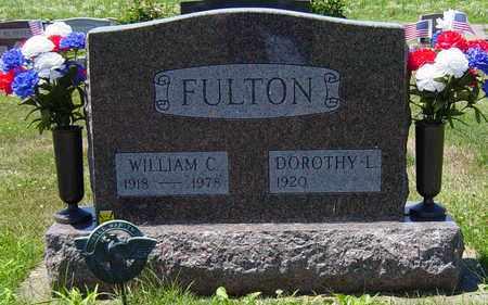 FULTON, WILLIAM C. - Tuscarawas County, Ohio   WILLIAM C. FULTON - Ohio Gravestone Photos