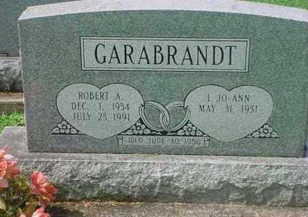 GARABRANDT, ROBERT A - Tuscarawas County, Ohio | ROBERT A GARABRANDT - Ohio Gravestone Photos