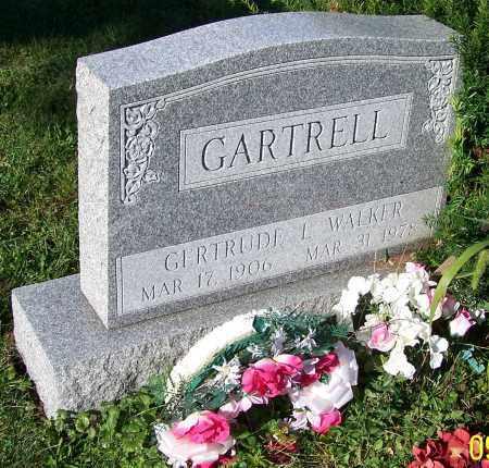 GARTRELL, GERTRUDE L.WALKER - Tuscarawas County, Ohio | GERTRUDE L.WALKER GARTRELL - Ohio Gravestone Photos