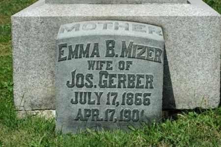 GERBER, EMMA BELLE - Tuscarawas County, Ohio | EMMA BELLE GERBER - Ohio Gravestone Photos