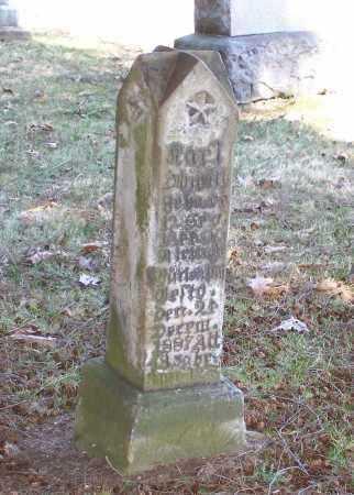 GERMAN STONE, KARL - Tuscarawas County, Ohio | KARL GERMAN STONE - Ohio Gravestone Photos