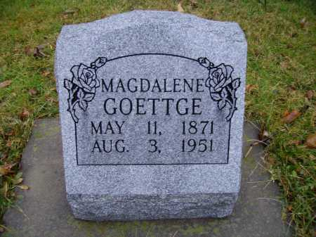GOETTGE, MAGDALENE - Tuscarawas County, Ohio | MAGDALENE GOETTGE - Ohio Gravestone Photos