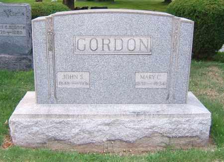 GIBBS GORDON, MARY C - Tuscarawas County, Ohio | MARY C GIBBS GORDON - Ohio Gravestone Photos