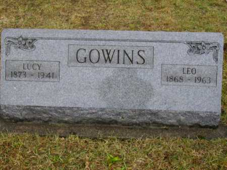 WEBER GOWINS, LUCY - Tuscarawas County, Ohio | LUCY WEBER GOWINS - Ohio Gravestone Photos