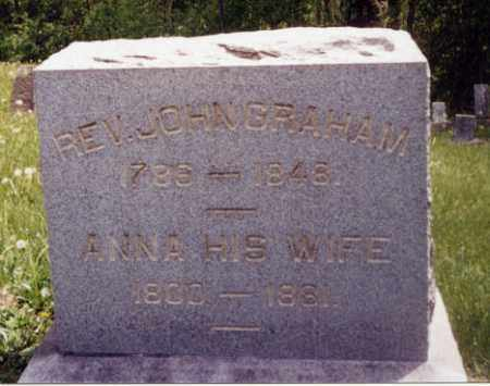 CAHILL GRAHAM, ANNA - Tuscarawas County, Ohio | ANNA CAHILL GRAHAM - Ohio Gravestone Photos