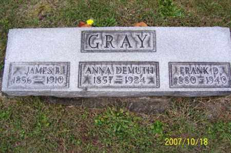 GRAY, JAMES B. - Tuscarawas County, Ohio | JAMES B. GRAY - Ohio Gravestone Photos