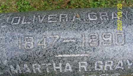 GRAY, OLIVER A. - Tuscarawas County, Ohio | OLIVER A. GRAY - Ohio Gravestone Photos