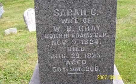 SHAFFER GRAY, SARAH CATHERINE - Tuscarawas County, Ohio | SARAH CATHERINE SHAFFER GRAY - Ohio Gravestone Photos