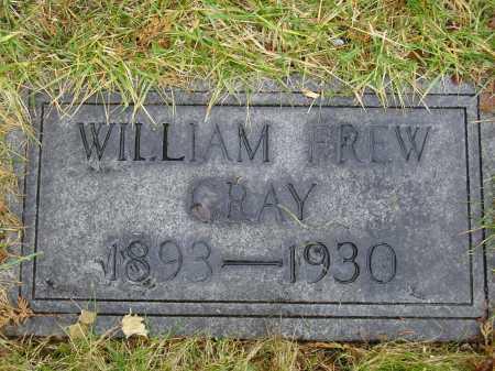 GRAY, WILLIAM FREW - Tuscarawas County, Ohio | WILLIAM FREW GRAY - Ohio Gravestone Photos