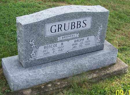GRUBBS, RALPH R. - Tuscarawas County, Ohio | RALPH R. GRUBBS - Ohio Gravestone Photos