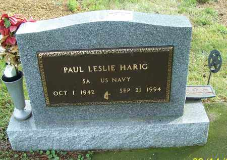 HARIG, PAUL LESLIE  (MIL) - Tuscarawas County, Ohio   PAUL LESLIE  (MIL) HARIG - Ohio Gravestone Photos