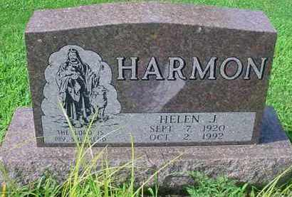 HARMON, HELEN J - Tuscarawas County, Ohio | HELEN J HARMON - Ohio Gravestone Photos