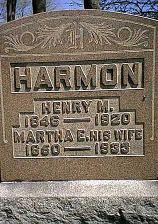 HARMON, MARTHA E. - Tuscarawas County, Ohio | MARTHA E. HARMON - Ohio Gravestone Photos