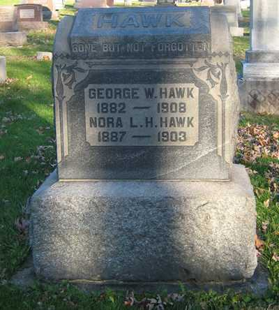 HAWK, GEORGE W - Tuscarawas County, Ohio | GEORGE W HAWK - Ohio Gravestone Photos