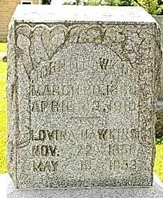 HAWKINS, LOVINA - Tuscarawas County, Ohio | LOVINA HAWKINS - Ohio Gravestone Photos