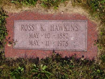 HAWKINS, ROSS K. - Tuscarawas County, Ohio   ROSS K. HAWKINS - Ohio Gravestone Photos