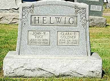GOLDNER HELWIG, CLARA E. - Tuscarawas County, Ohio | CLARA E. GOLDNER HELWIG - Ohio Gravestone Photos