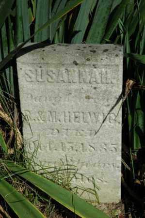 HELWIG, SUSANNAH - Tuscarawas County, Ohio   SUSANNAH HELWIG - Ohio Gravestone Photos