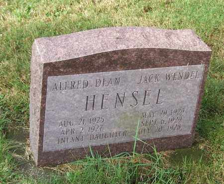 HENSEL, INFANT DAUGHTER - Tuscarawas County, Ohio | INFANT DAUGHTER HENSEL - Ohio Gravestone Photos