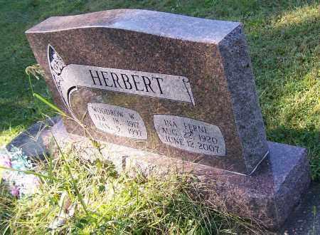 HERBERT, INA FERN - Tuscarawas County, Ohio   INA FERN HERBERT - Ohio Gravestone Photos