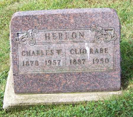 HERRON, CLIO RABE - Tuscarawas County, Ohio   CLIO RABE HERRON - Ohio Gravestone Photos