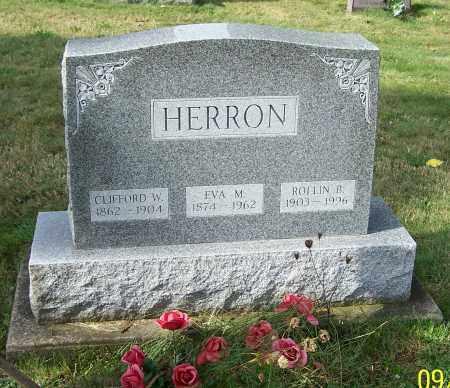 HERRON, EVA M. - Tuscarawas County, Ohio | EVA M. HERRON - Ohio Gravestone Photos