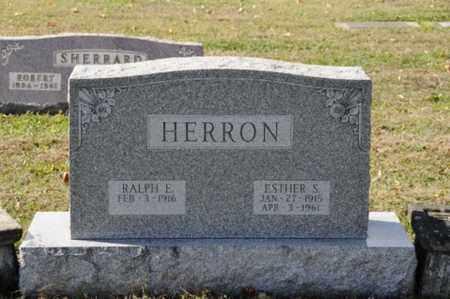 HERRON, ESTHER S. - Tuscarawas County, Ohio | ESTHER S. HERRON - Ohio Gravestone Photos