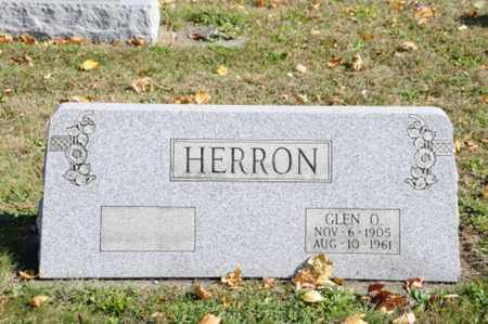HERRON, GLENN O. - Tuscarawas County, Ohio | GLENN O. HERRON - Ohio Gravestone Photos