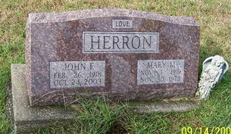 HERRON, JOHN F. - Tuscarawas County, Ohio | JOHN F. HERRON - Ohio Gravestone Photos