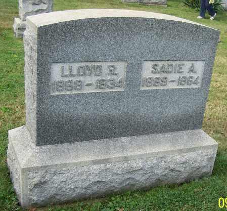 HERRON, SADIE A. - Tuscarawas County, Ohio | SADIE A. HERRON - Ohio Gravestone Photos