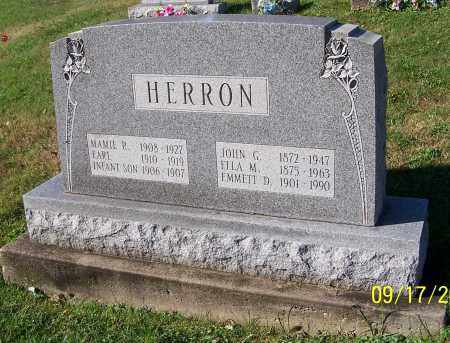 HERRON, INFANT SON - Tuscarawas County, Ohio | INFANT SON HERRON - Ohio Gravestone Photos