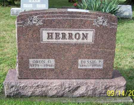 HERRON, ORON O. - Tuscarawas County, Ohio   ORON O. HERRON - Ohio Gravestone Photos