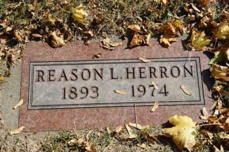 HERRON, REASON L. - Tuscarawas County, Ohio | REASON L. HERRON - Ohio Gravestone Photos