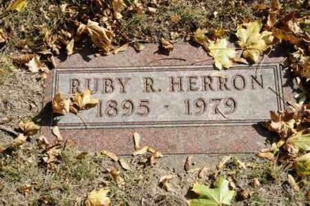 HERRON, RUBY R. - Tuscarawas County, Ohio | RUBY R. HERRON - Ohio Gravestone Photos
