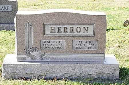 HERRON, WALTER O. - Tuscarawas County, Ohio   WALTER O. HERRON - Ohio Gravestone Photos
