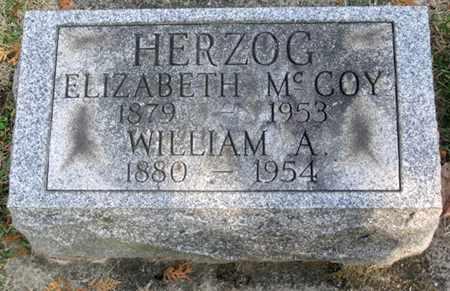 HERZOG, ELIZABETH - Tuscarawas County, Ohio | ELIZABETH HERZOG - Ohio Gravestone Photos